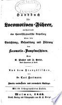 Handbuch für Locomotiven-Führer