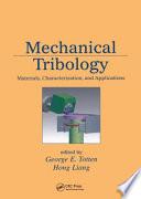 Mechanical Tribology