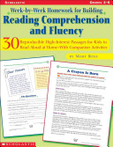 Week By Week Homework for Building Reading Comprehension and Fluency