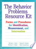 The Behavior Problems Resource Kit