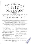 New Websterian 1912 Dictionary