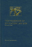 The Yearbook of Education Law