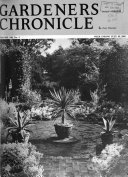 Gardeners  Chronicle  Horticultural Trade Journal