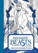 Fantastic Beasts and Where to Find Them  A Book of 20 Postcards to Color