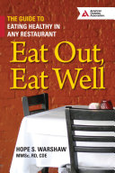 Eat Out  Eat Well