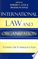 Ebook International Law and Organization Epub Michael W. Doyle,Edward C. Luck Apps Read Mobile