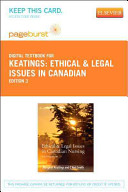 Ethical and Legal Issues in Canadian