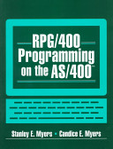 RPG 400 Programming on the AS 400