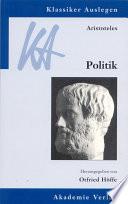 Aristoteles  Politik