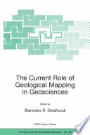 The Current Role Of Geological Mapping In Geosciences book