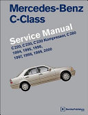 Mercedes-Benz C-class (W202) Service Manual