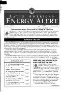 Latin American energy alert