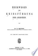 Heerwesen und Kriegf  hrung der Griechen