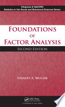 Foundations of Factor Analysis  Second Edition