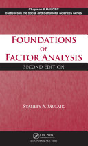 Foundations of Factor Analysis, Second Edition