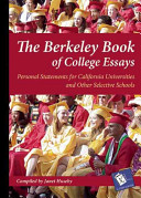 The Berkeley Book of College Essays