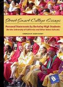 The Berkeley Book of College Essays