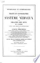 Traité et iconographie du système nerveux et des organes des sens de l'homme