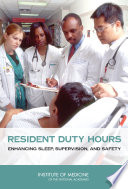 Resident Duty Hours: : duty for long hours. in 2003 the organization...