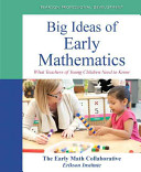 Big Ideas of Early Mathematics