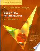Essential Mathematics with Applications  Student Support Edition
