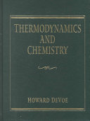 Thermodynamics and Chemistry