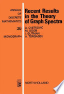 Recent Results In The Theory Of Graph Spectra book
