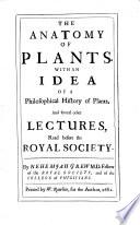 The Anatomy of Plants