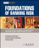 Foundations of Banking Risk