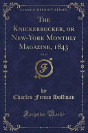 download ebook the knickerbocker, or new-york monthly magazine, 1843, vol. 21 (classic reprint) pdf epub