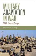 Military Adaptation in War