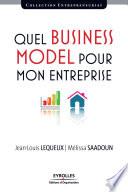 illustration du livre Quel business model pour mon entreprise