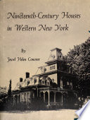Nineteenth Century Houses In Western New York