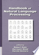 Handbook of Natural Language Processing