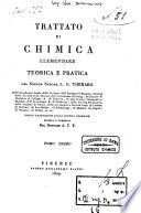 Trattato di chimica elementare teorica e pratica del signor barone L G  Thenard     Tomo primo  quinto