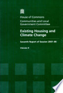 Existing Housing and Climate Change