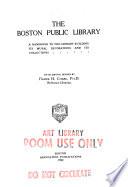 The Boston Public Library Book PDF