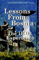 Lessons from Bosnia