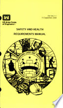 Safety and Health Requirements Manual