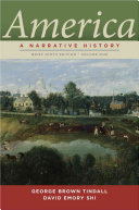 America  A Narrative History  Brief Ninth Edition