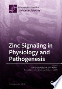 Zinc Signaling in Physiology and Pathogenesis