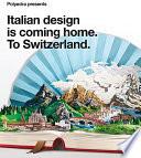 illustration du livre Polyedra Presents Italian Design is Coming Home, to Switzerland