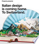 illustration du livre Polyedra Presents Italian Design is Coming Home, to Switzerland