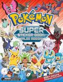 Pokemon Super Sticker Book  Kalos Region