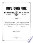 Bibliographie der Schweiz