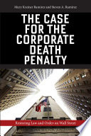 The Case for the Corporate Death Penalty