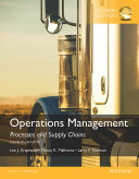 Operations Management  Processes and Supply Chains  Global Edition