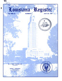 Louisiana Register