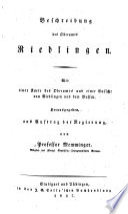 Beschreibung des königreichs Württemberg ...: Riedlingen