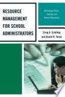 Resource Management for School Administrators Book PDF